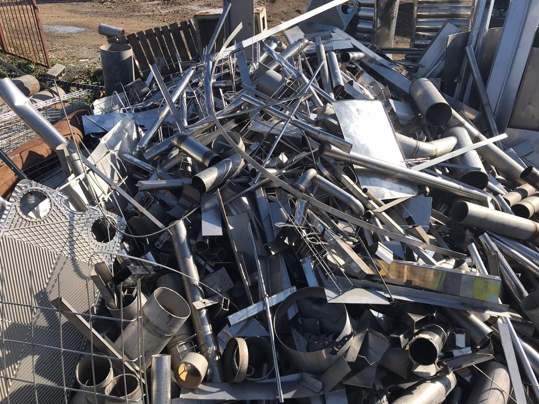 ضایعات فلزات ( آهن ، استیل ، آلومینیوم ، مس و … )